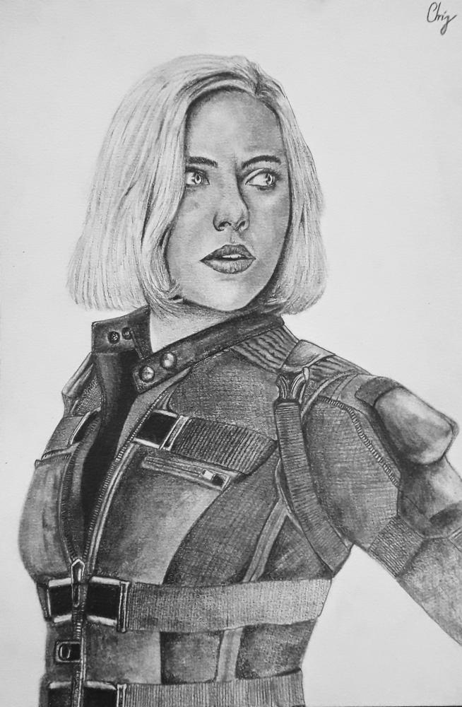 Scarlett Johansson par chrispicture